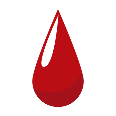 blood drop donation campaing health life vector illustration