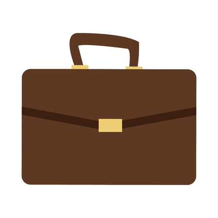 business portfolio bag accesorie documents vector illustration