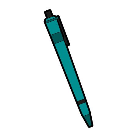 Roller pen icon image vector illustration design