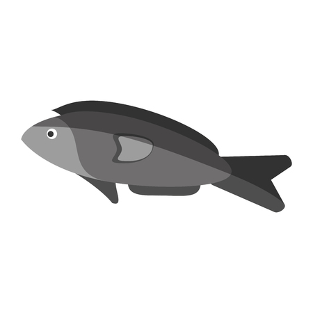 fish for eating icon image vector illustration design