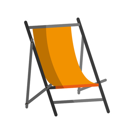 bendable: A sun chair icon image vector illustration design