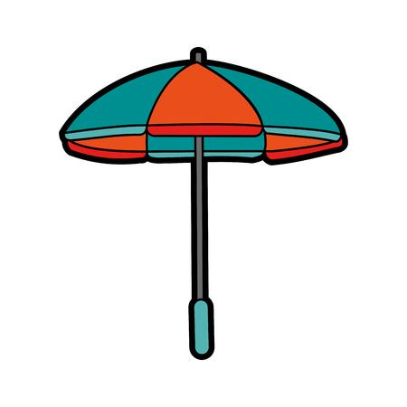 Parasol umbrella icon image vector illustration design