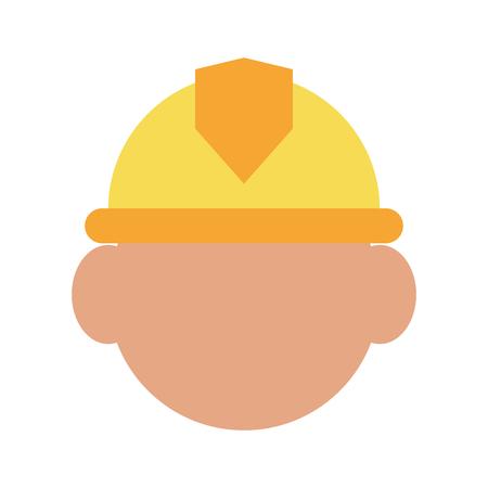 civil construction: construction worker builder contractor icon image vector illustration design
