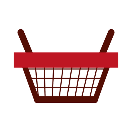 shopping basket icon image vector illustration design Illustration