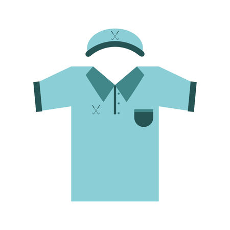 dimple: outfit golf related icon image vector illustration design Illustration