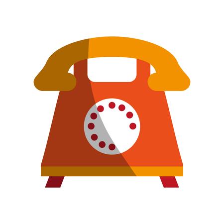 rotary phone icon image vector illustration design Illustration