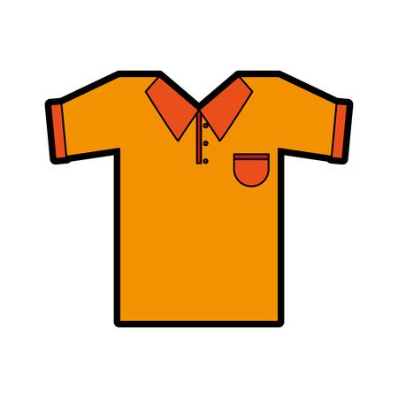 polo shirt icon image vector illustration design Ilustração