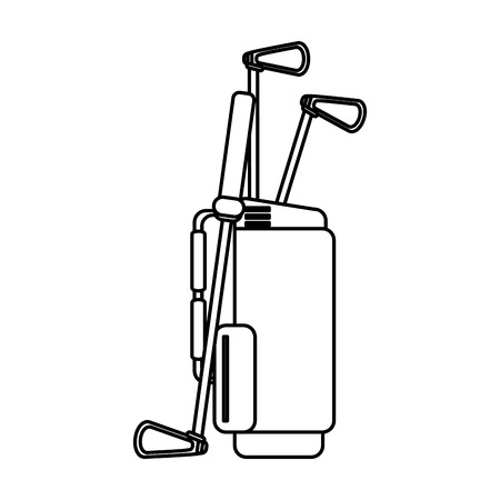 dimple: club golf related icon image vector illustration design