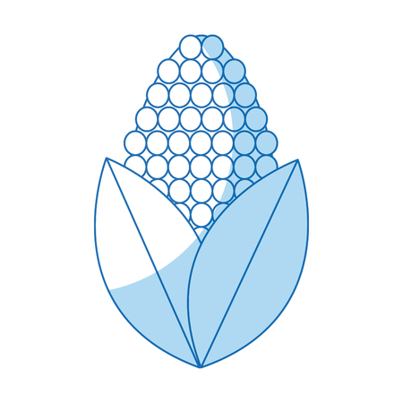 corn ethanol alternative energy power vector illustration