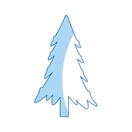 christmas tree decoration festive winter ornament vector illustration Illustration