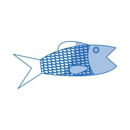 bream: fish sea food fresh animal wild icon vector illustration