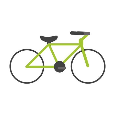 health and fitness: Bike or bicycle icon image vector illustration design