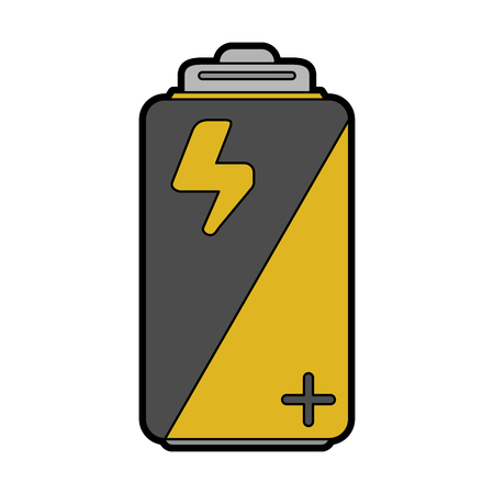 low energy: Small battery icon image vector illustration design.