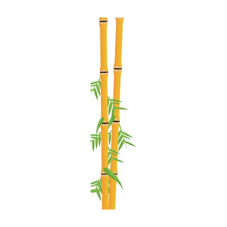 bamboo plant icon image vector illustration design Illustration