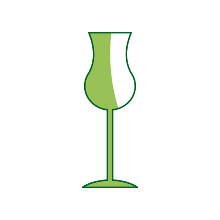 sniffer: glass cup for drink bar. glassware, alcohol, liquid icon vector illustration