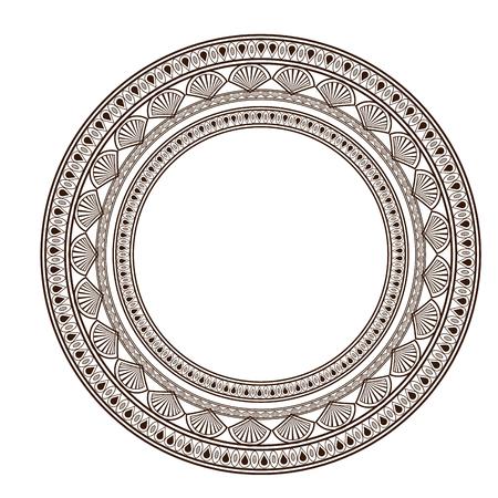 Bohemian design. mandala icon. decoration concept, vector illustration