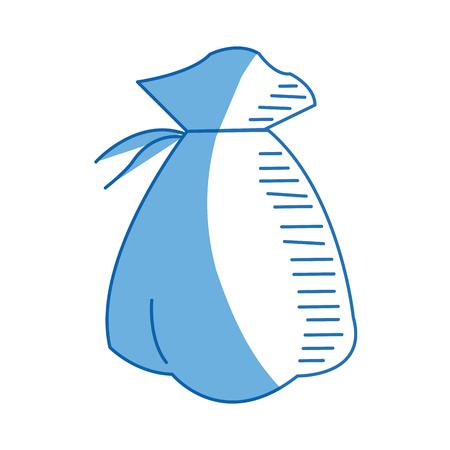 bag money cash business financial concept vecto illustration