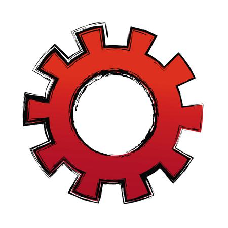 cogwheel: gears teamwork cooperation concept abstract design vector illustration