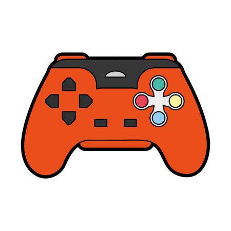 obsession: videogame controller icon image vector illustration design