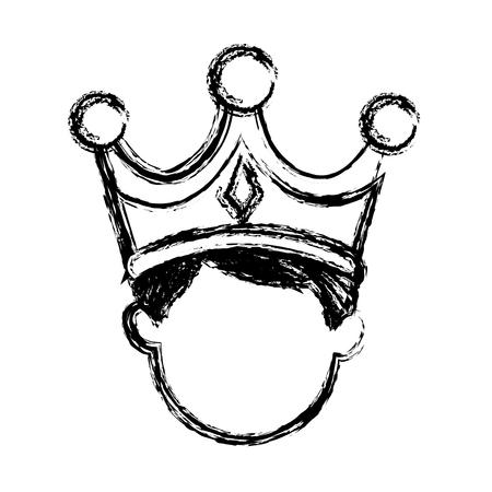 wise king manger character catholic image vector illustration Stock Vector - 79096261