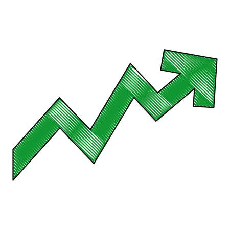 上昇の矢印。増加、価格、投資概念ベクトル図 写真素材 - 79273281