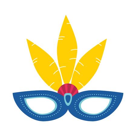 carnival brazil flat icon vector design graphic illustration
