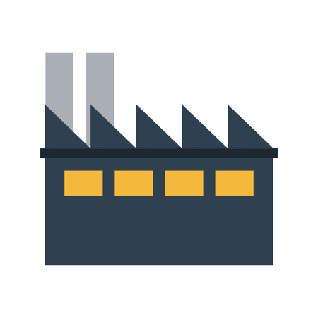 conveyor system: factory cartoon flat illustration icon vector design graphic Illustration