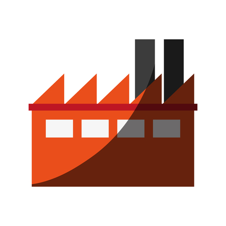 conveyor system: factory cartoon flat illustration icon vector design graphic shadow Illustration