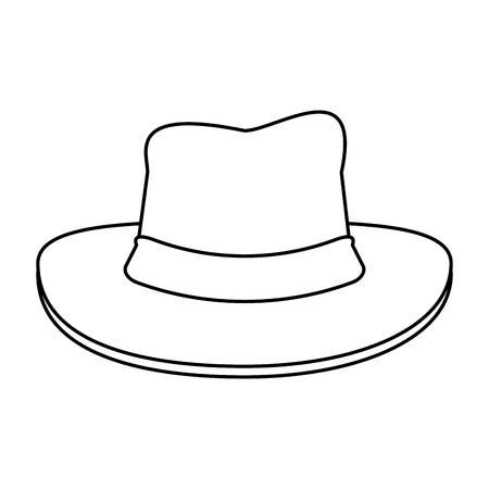 Hat Draw Illustration Icon Vector Design Graphic Royalty Free