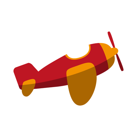 icon: open cockpit mono plane icon image vector illustration design