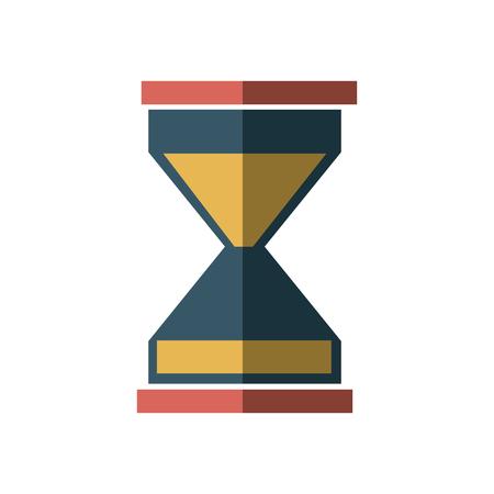 ビジネス砂の時計アイコン ガラス タイマー シンボル ベクトル図  イラスト・ベクター素材