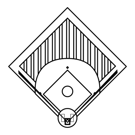 672 Baseball Diamond Stock Illustrations Cliparts And Royalty Free