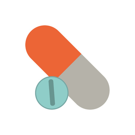 insured: medication healthcare related icon image vector illustration design Illustration
