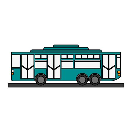 toy bus graphic icon vector illustration design Illustration