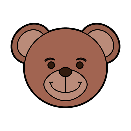 Teddy bear baby or shower related icon image vector illustration design. Illustration