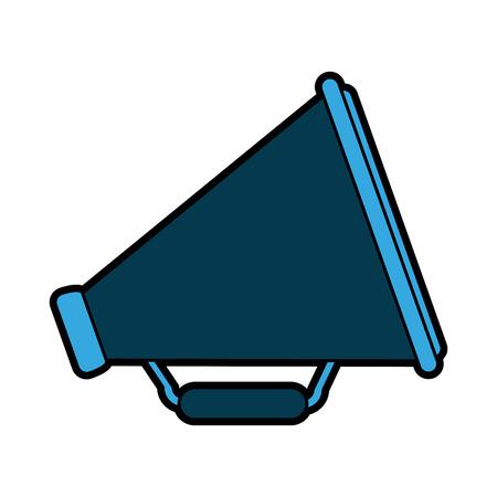 megaphone or loudspeaker icon image vector illustration design Illustration