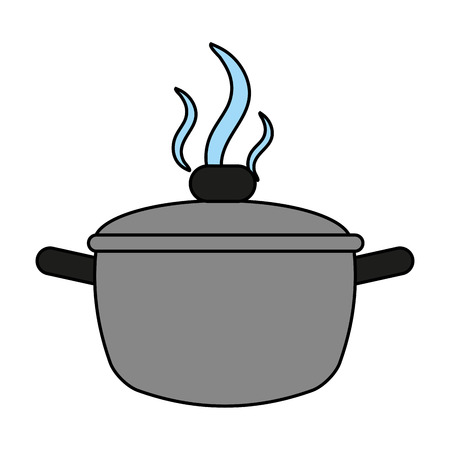 saucepan flat illustration icon vector design graphic