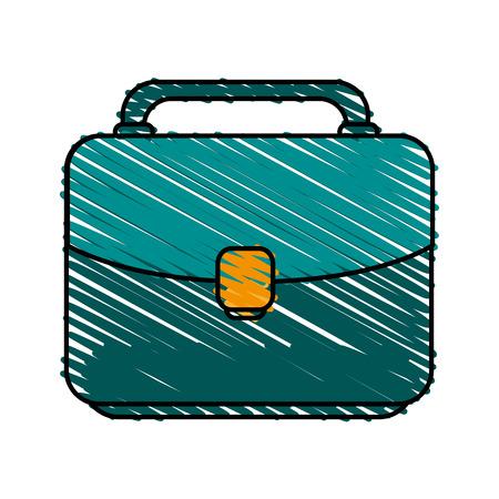 Office portfolio icon illustration vector design graphic sketch