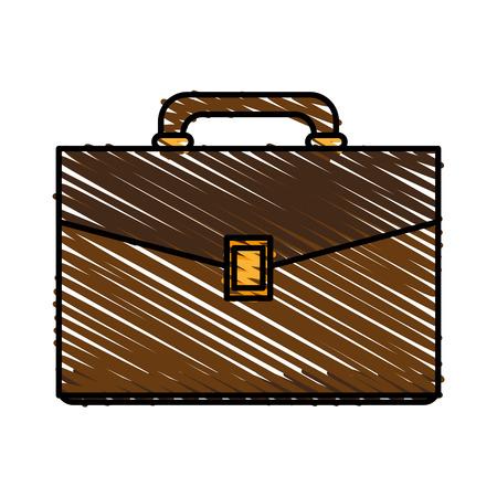 documentation: Portfolio document handle icon vector illustration graphic design
