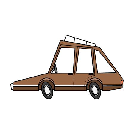 car, toy, little, vector, illustration, icon, design, graphic, Illusztráció