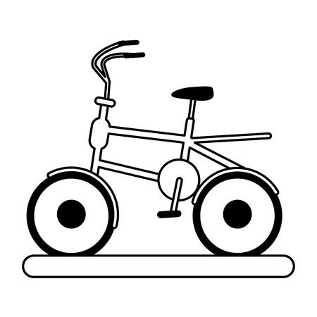 vitality: bike or bicycle icon image vector illustration design black line