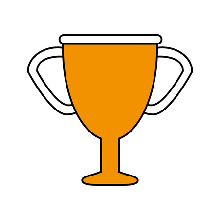 trophy flat illustration icon vector design graphic
