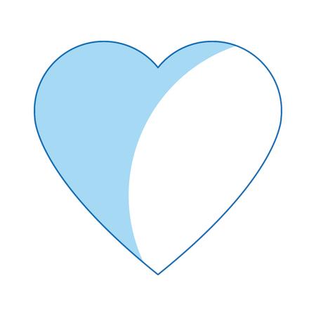 heart health care love symbol icon vector illustration Ilustrace