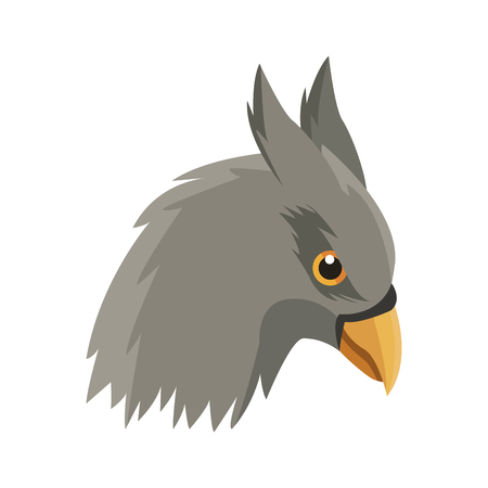 hippogriff greek mythological creature legendary beast vector illustration