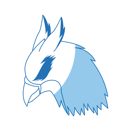 griff creature animal bird mythical image vector illustration Illustration