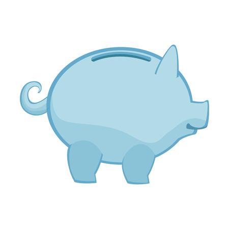 piggy banking concept safe money icon vector illustration