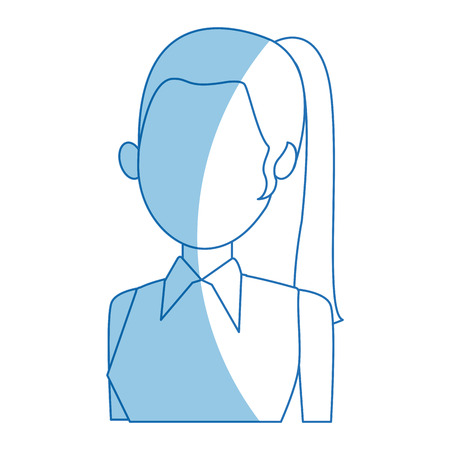 candidates: female political candidate election character vector illustration