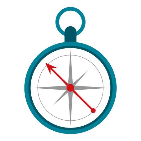 geographical: navigation compass icon image vector illustration design Illustration