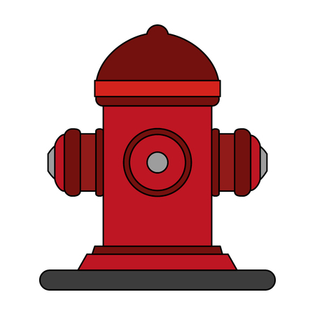 desing: Fire hydrant use icon vector illustration desing graphic flat Illustration