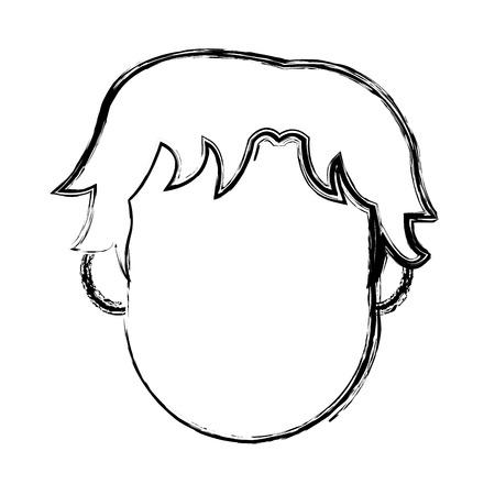Personnage homme personnage plat conception illustration vectorielle Banque d'images - 80239389